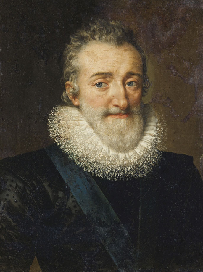 Portrait of Henry IV