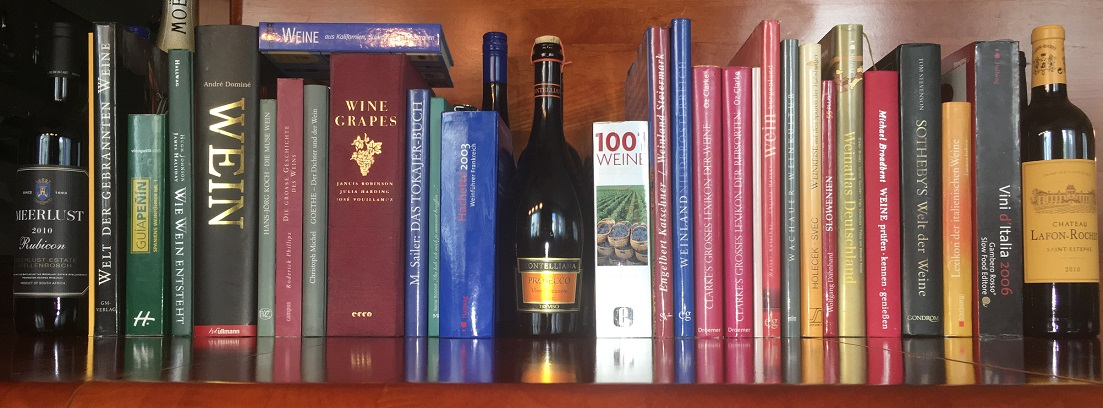 many wine books = extent of the wine glossary