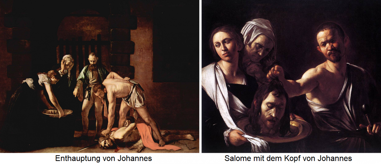 Beheading of John / Salome with the head of John
