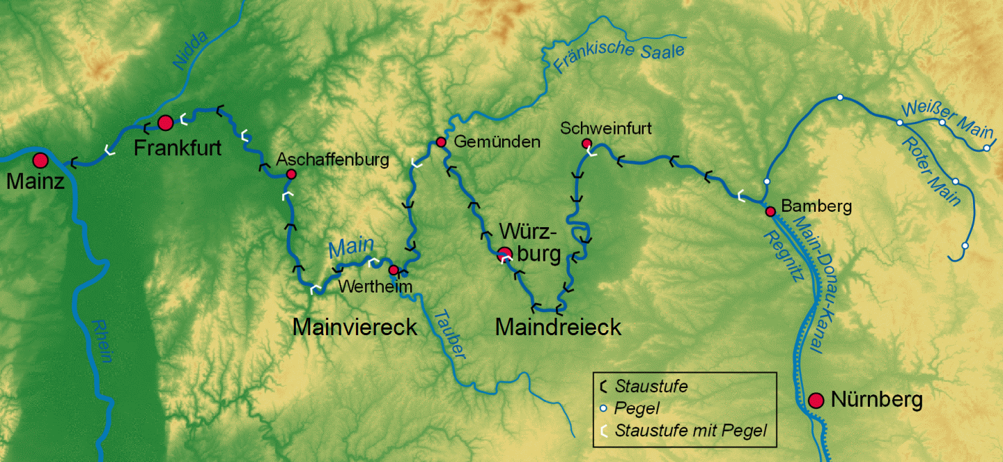 Main - river course