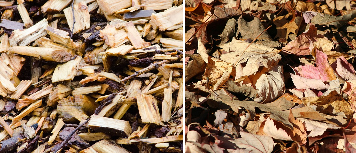 Mulch - bark / wood and foliage