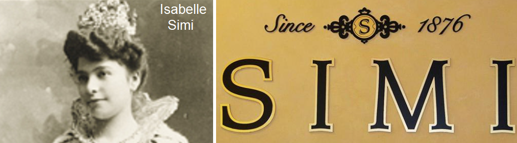 Isabelle Simu and logo