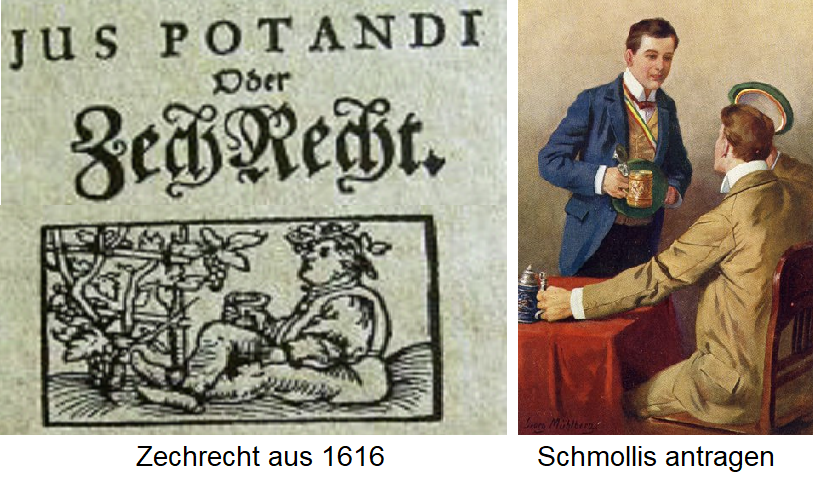 Claiming Ammunition from 1616 / Schmollis (Offer Word, Drinking Brotherhood)